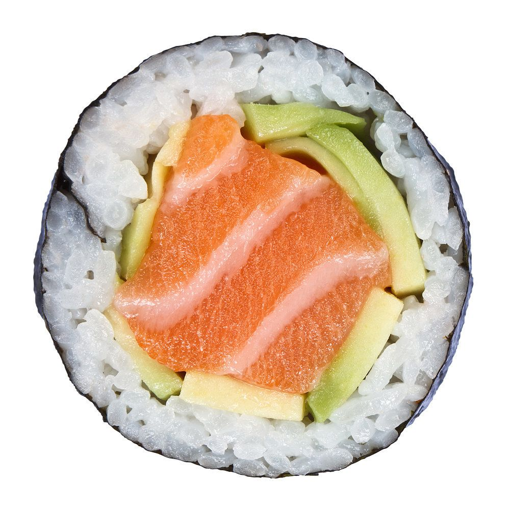 Calories in your sushi train menu japanese dishes menu for Best fish for sushi