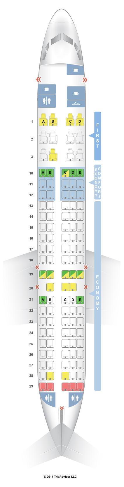SeatGuru Seat Map Delta Boeing 717-200 (717) - SeatGuru Travel