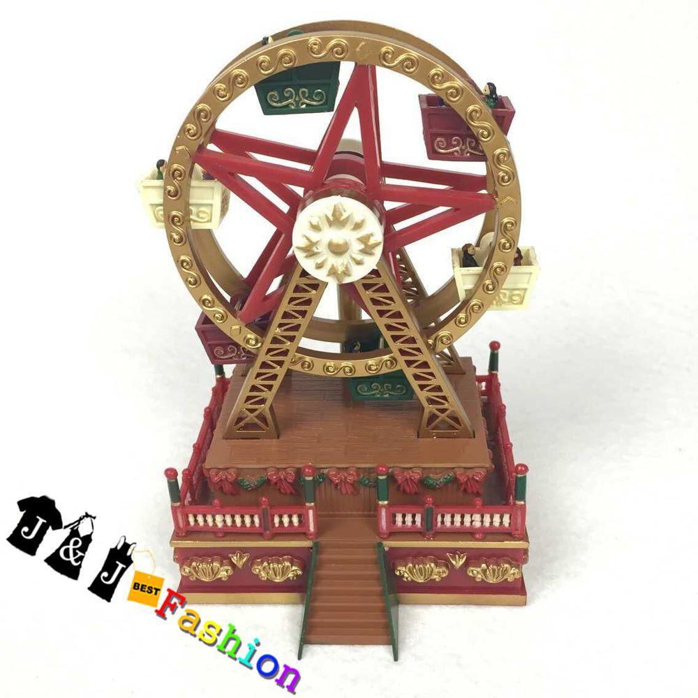 Christmas Ferris Wheel Music Box.Pin On Music Box