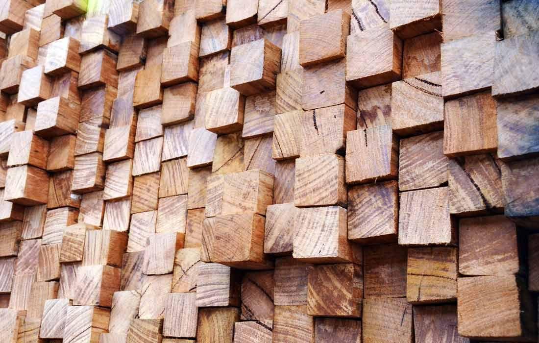 Timber Screen Garden Design Idea.
