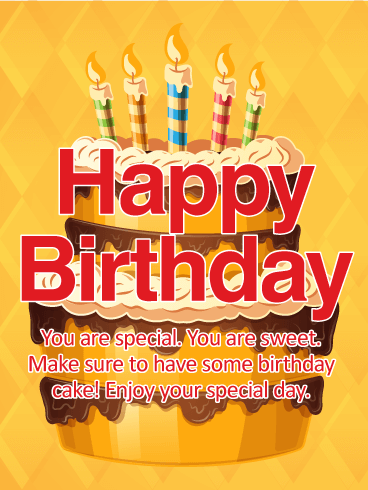 You are special sweet happy birthday wishes card birthday you are special sweet happy birthday wishes card m4hsunfo