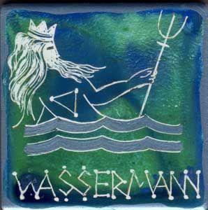 Wassermann Frau Im Bett