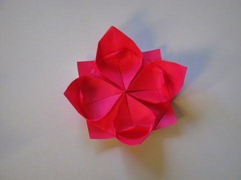 Origami how to make a lotus flower youtube skldn papru origami how to make a lotus flower youtube mightylinksfo