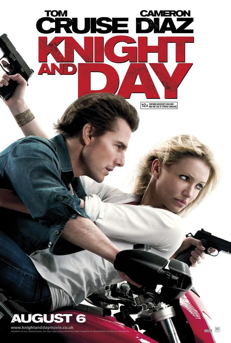 Knight Day Extra Large Movie Poster Image Internet Movie Poster Awards Gallery Tom Cruise Movies Movies Movies Worth Watching