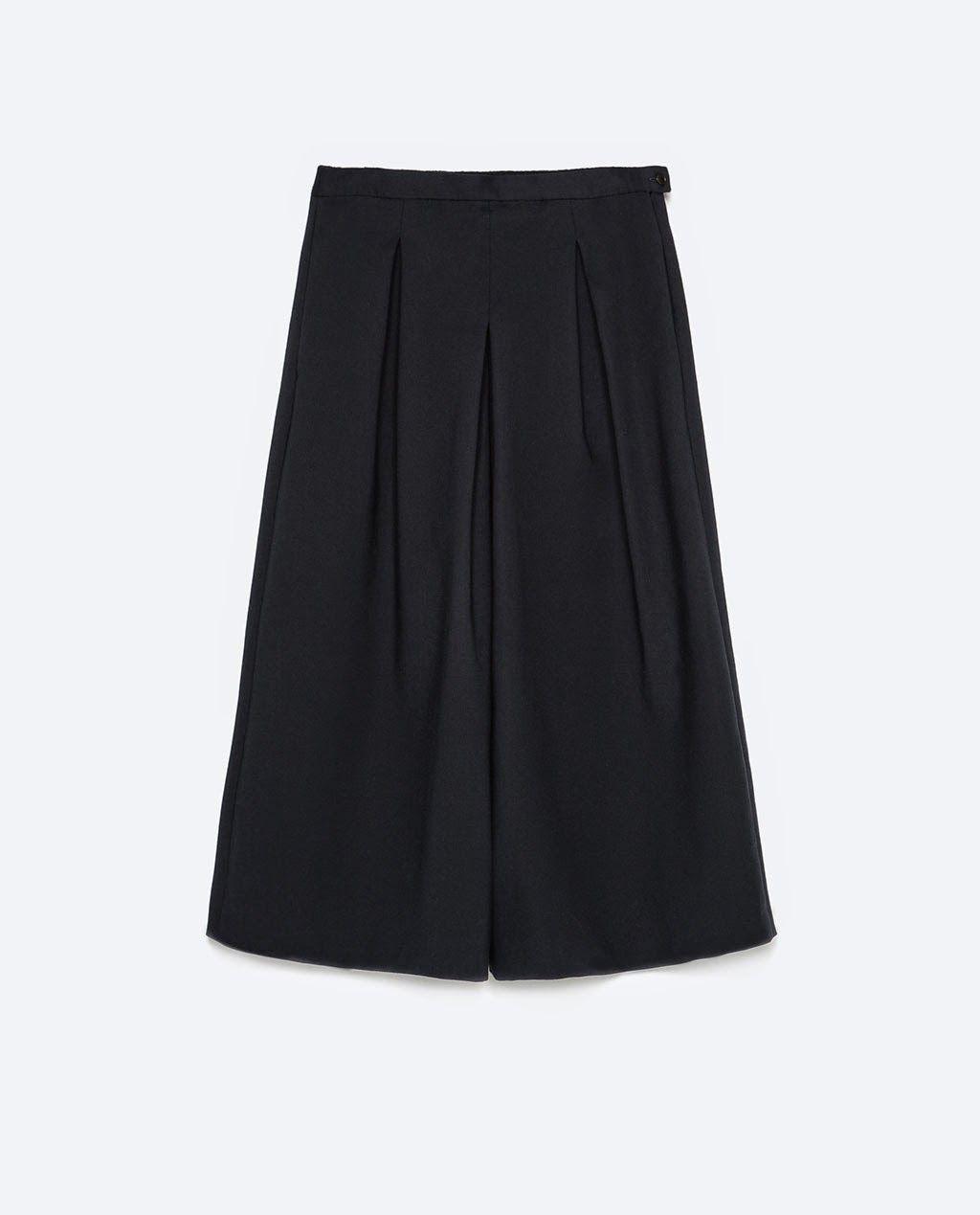 diferentemente 33a61 8ed06 Patrón gratis: falda pantalón culotte para todas las tallas ...
