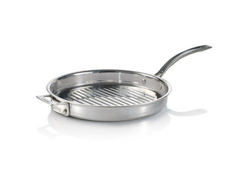 Dr Weil Stainless Steel 12 Inch Round Grill Pan 1660 144 99 Finished And Rolled Edges Aluminum Core For Even Cookware Set Cookware Essentials Grilling