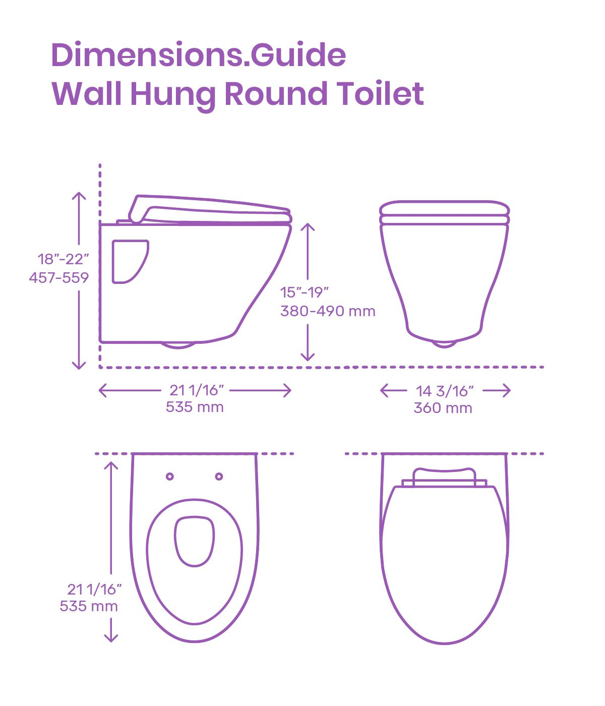 Wall Hung Round Toilet Bathroom Dimensions Modern Toilet How To Plan