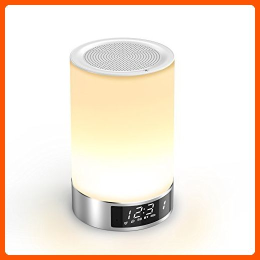 Bluetooth Speaker Aolaifo Romantic Touch Sensor Dimmable Table Lamp With Wireless Bluetooth 4 0 Speaker Bedside Lamp Dimmable Table Lamp Outdoor Table Lamps