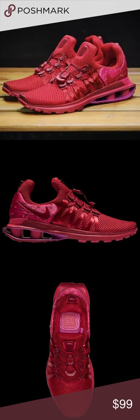 dfbff85e9aa NEW! Nike Shox Gravity Sneaker in Red Crush 🌹❤ 🍒 Nike Shox ...