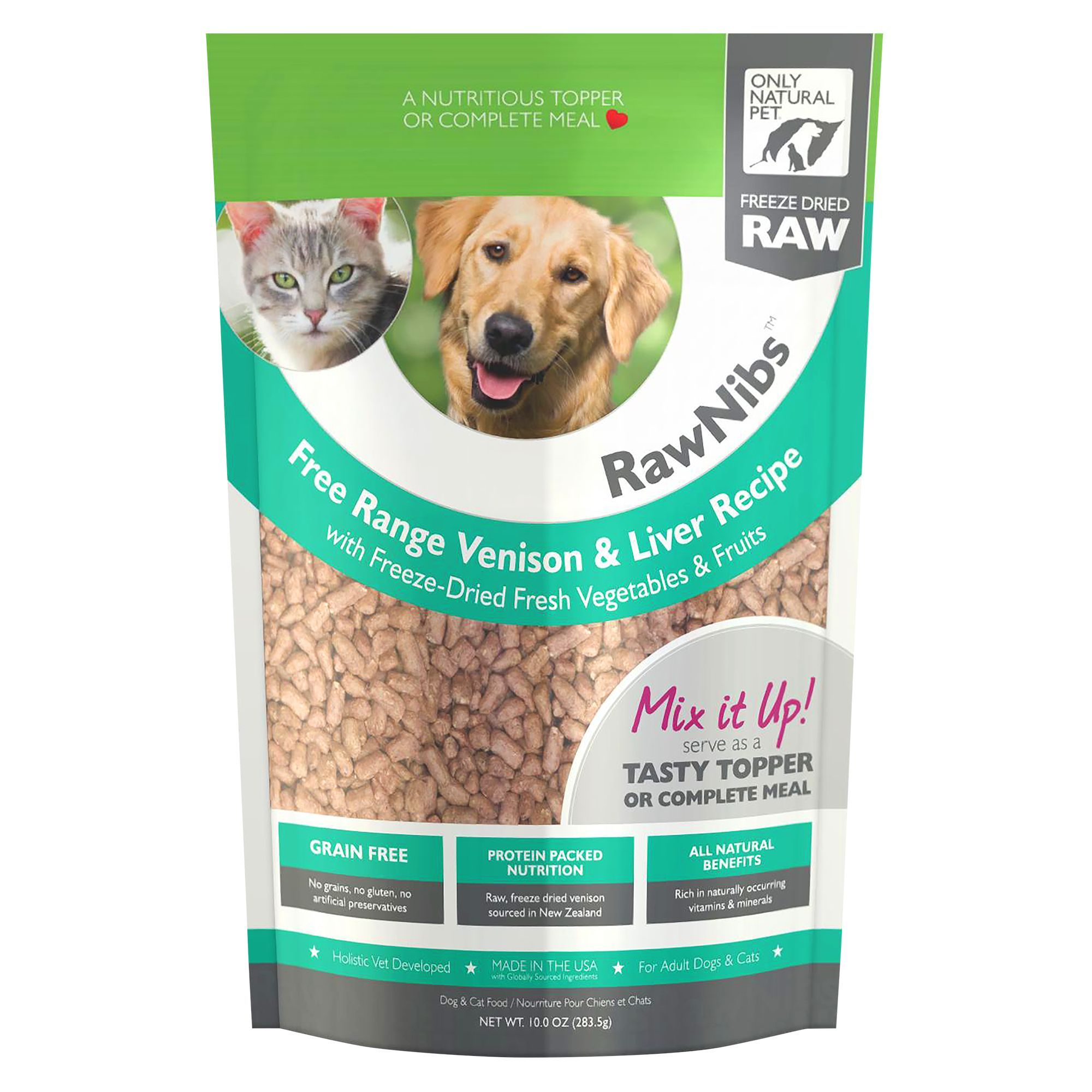 Only Natural Pet RawNibs Pet Food Freeze Dried Raw