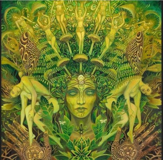 The Psychedelic Witch | Fantasy Art | Pinterest | Psychedelic Art, Art and Visionary art