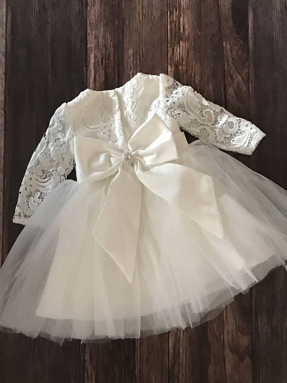 c7873efe0 Couture Lace Baby Girl Baptism Dress or Flower Girl Dress / | ropon ...