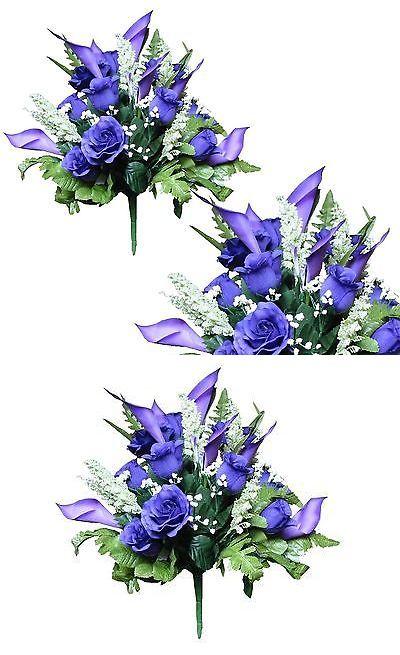 Silk flowers 16494 lot of 12 bridal bouquets deep purple poly silk silk flowers 16494 lot of 12 bridal bouquets deep purple poly silk wedding home mightylinksfo