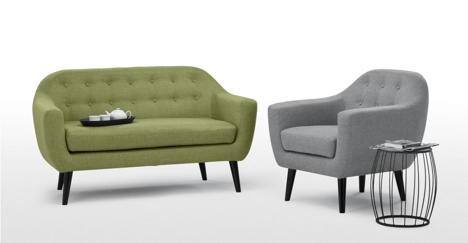 Ritchie 2 Seater Sofa Lime Green 2 Seater Sofa Sofa Armchair Green Sofa