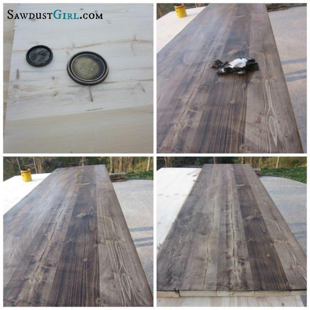 How To Build A Wood Countertop With Undermount Sink Diy Wood Countertops Wood Countertops Diy Countertops