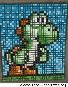 mario bros mosaic!!