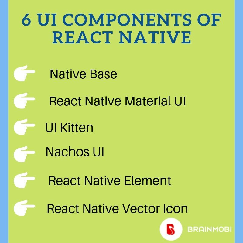 BrainMobi is one of the best react native app development