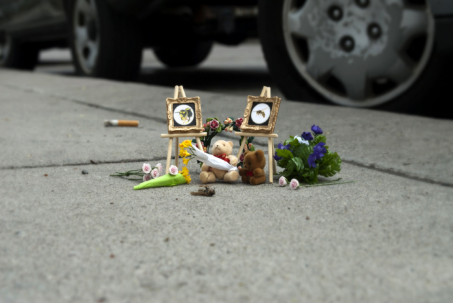 Bug Memorial by the Carmichael Collective