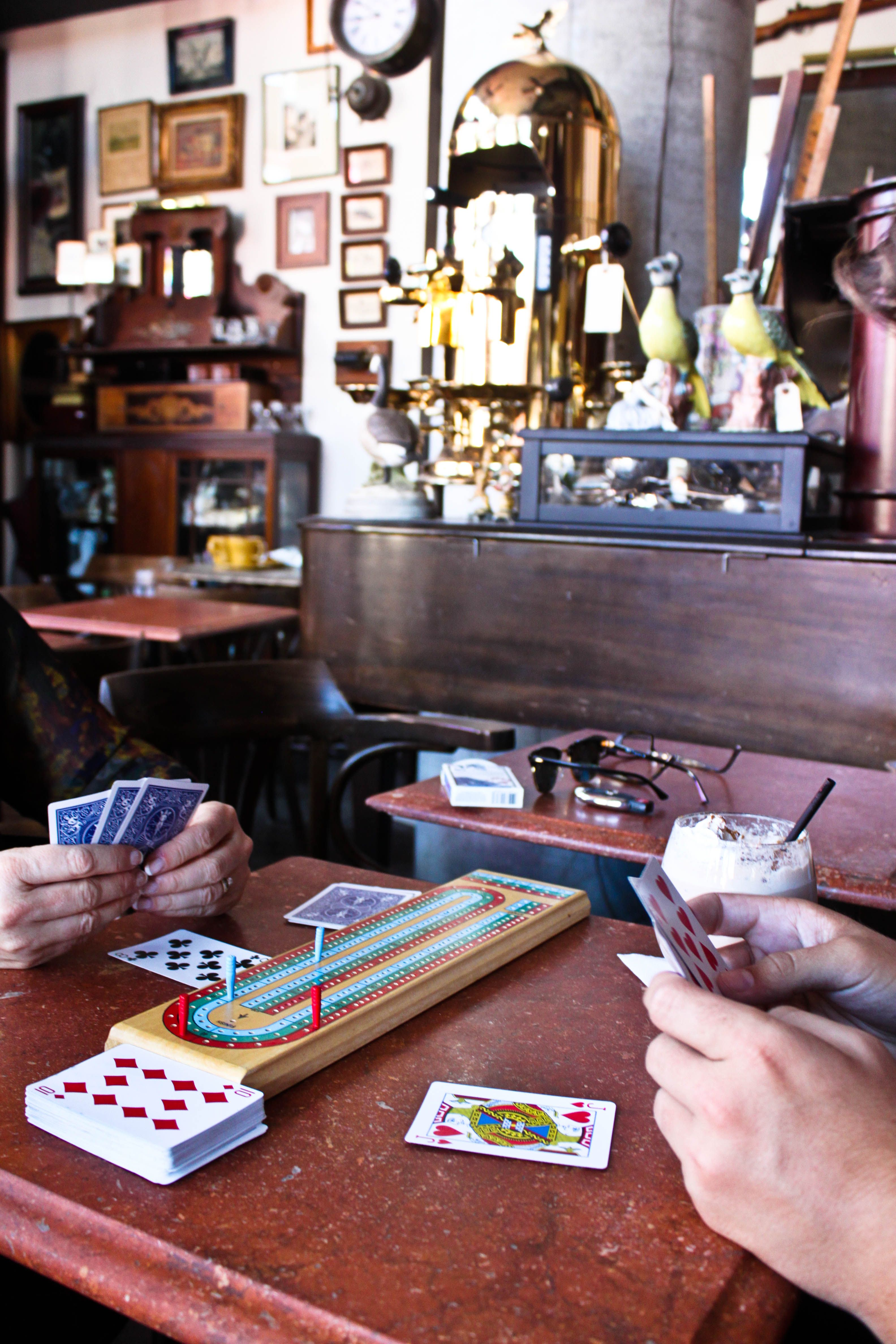 Love the idea of having small games or card games for