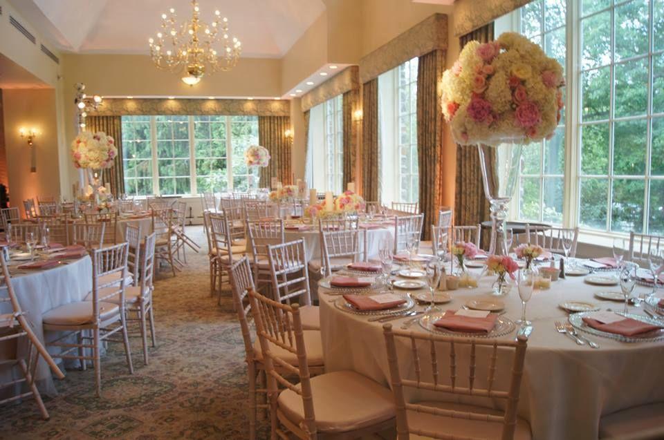 Ballroom Huntingdon Valley Country Club Wedding Venue Philadelphia