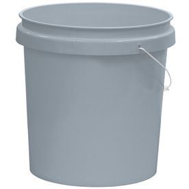 Shop United Solutions 5 Gallon Plastic Paint Bucket At Lowes Com Paint Buckets Self Watering Planter Gallon
