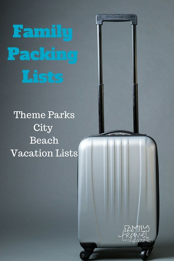Family Packing Lists