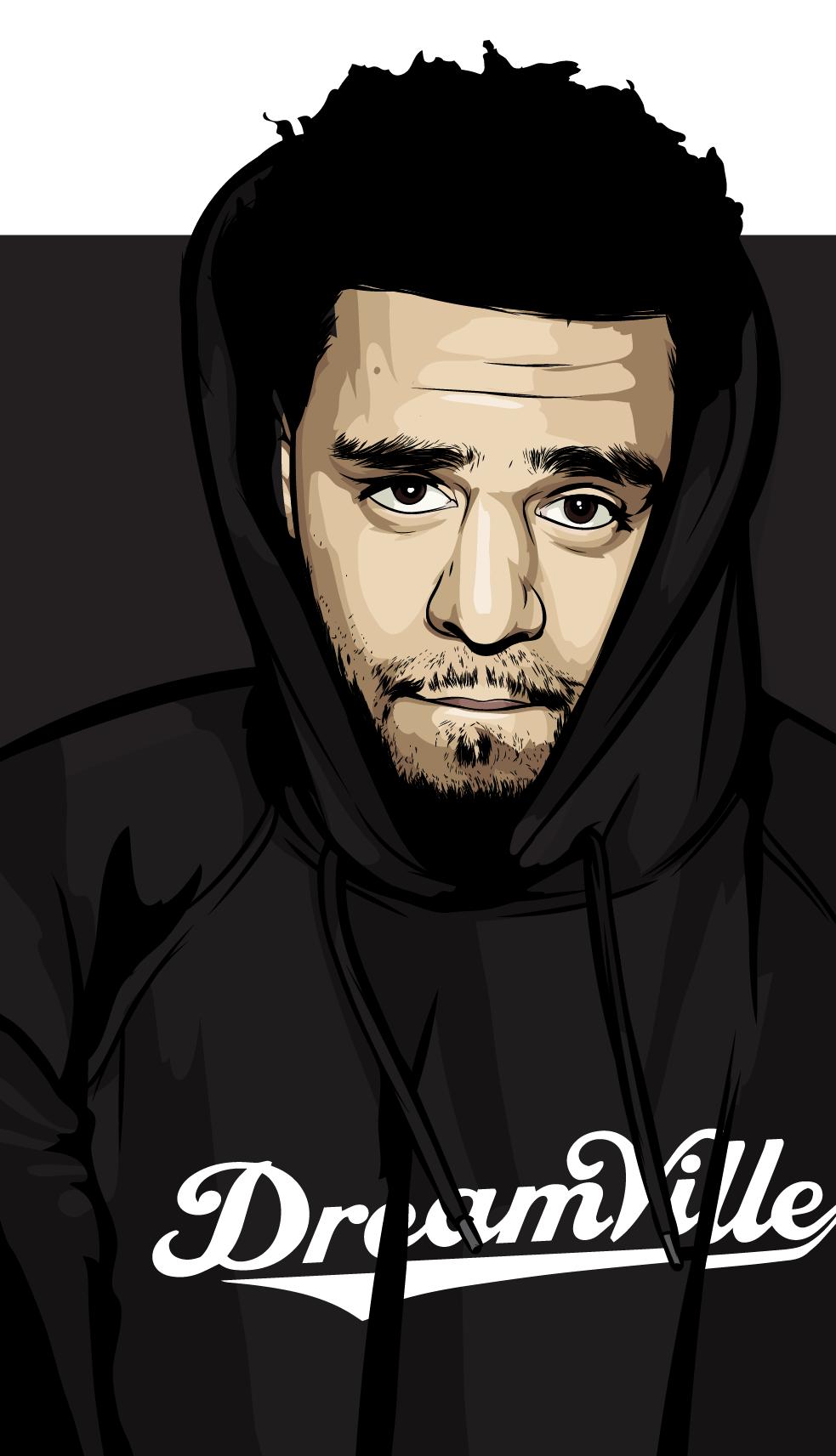 Scaredofmonsters Rapper Art J Cole Art Trill Art