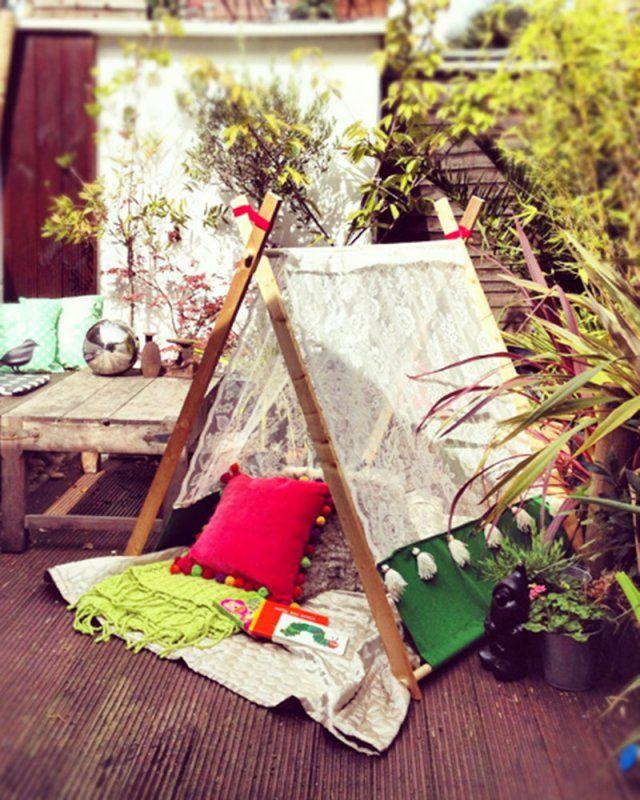 Fabriquer un tipi soi-même ! Tipi, Craft house and Bricolage