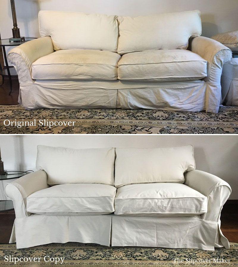 Replacement Sofa Slipcover Denim
