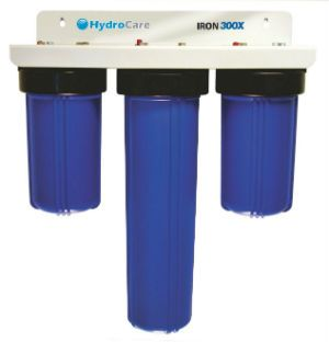 Hydrocare Hc 300x Iron Well Water Filtration Review Water Solutions Diy Water Water Filtration