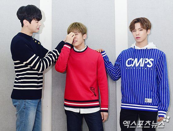 Astro for XP Star Shot - EunWoo, Rocky e JinJin