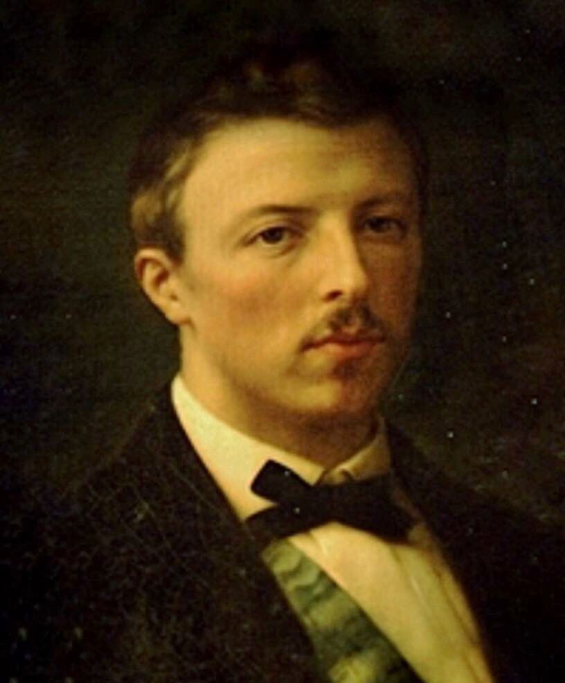 Gastao De Orleans Conde D Eu Pintura De Edouard Vienot 1868
