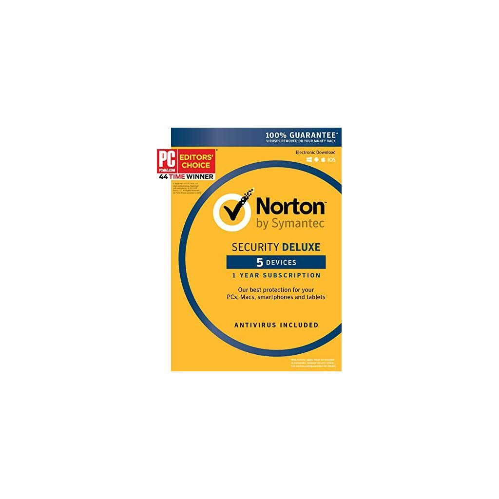 Norton Security Deluxe 5 Device Key Card 2019 Ready Software Operating Systems Jewelry Women Necklaces St Norton Security Computer Security Devices