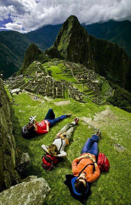 Arrivare fin lassù e ... perdere il fiato per la sua bellezze #MachuPicchu #Perù