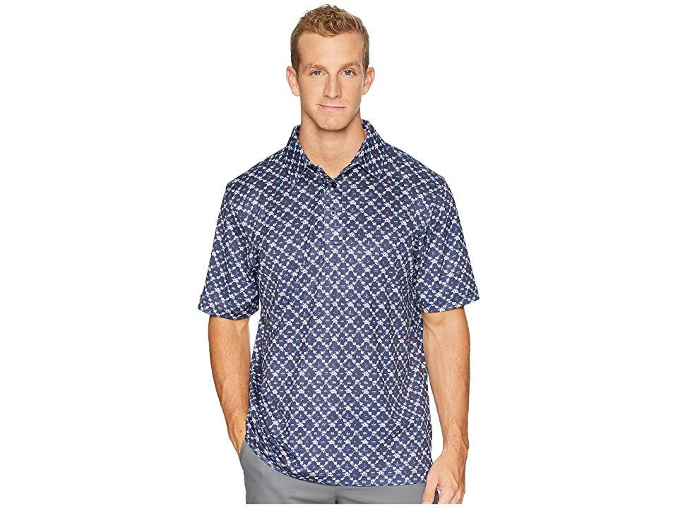 4aa03dcc5 Straight Down Spooner Polo (Indigo) Men's Clothing. Leave the competition  strugglin' for bogies when you tee up in the Straight Down Spooner Polo.