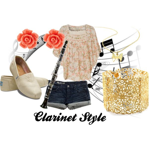 """""""Clarinet Style"""" by wolfe30 on Polyvore"""