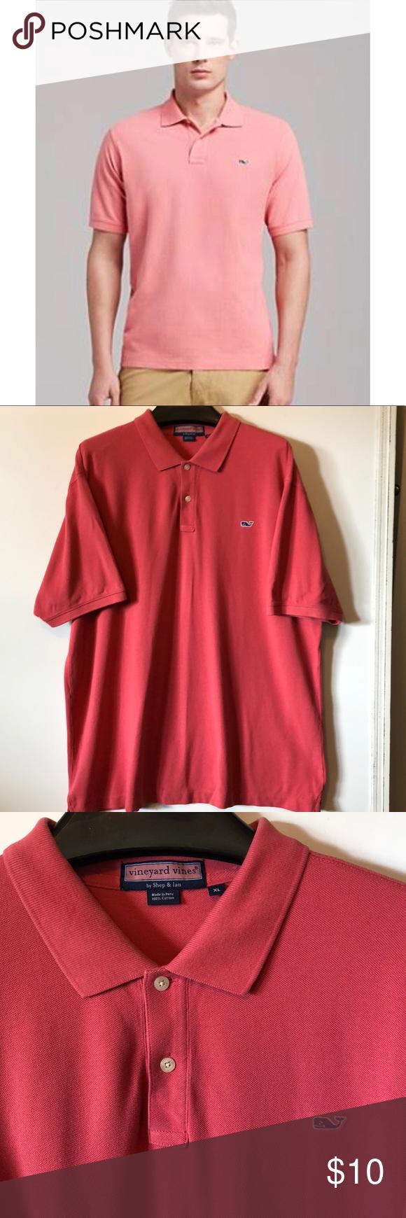 Vineyard Vines Polo Shirt Whale Logo Classic Fit My Posh Closet