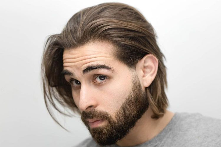 How To Stop A Receding Hairline Growing Your Hair Out Growing Hair Men Chin Length Hair