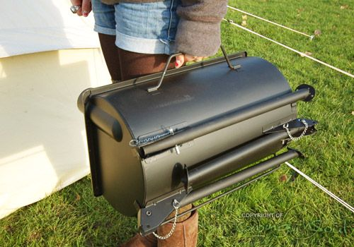 The Frontier Stove a portable wood burning stove for tents sheds and offgrid living. | Anevay Stoves | Pinterest | Stove & The Frontier Stove: a portable wood burning stove for tents sheds ...