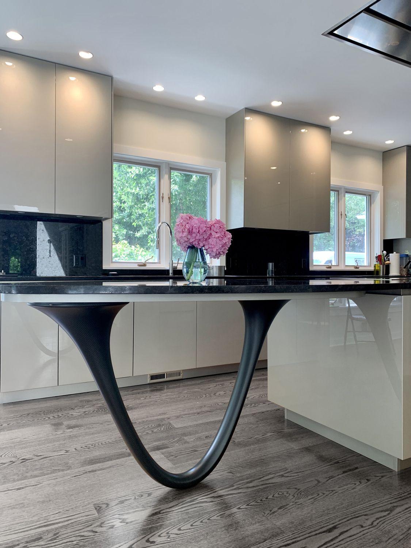 Snaidero Ola20 Kitchen Design In Champaign Metallic Lacquer Rochester Ny Designer Lorena Polon Of Snaidero Usa New York Fl In 2020 Installation Design Home Decor