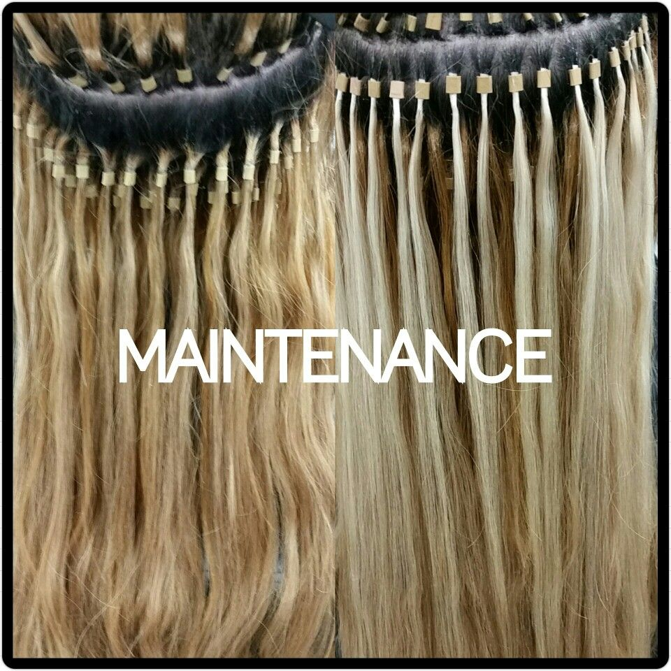 Dallas Hair Extensions Before And After Maintenance 469 740 7425