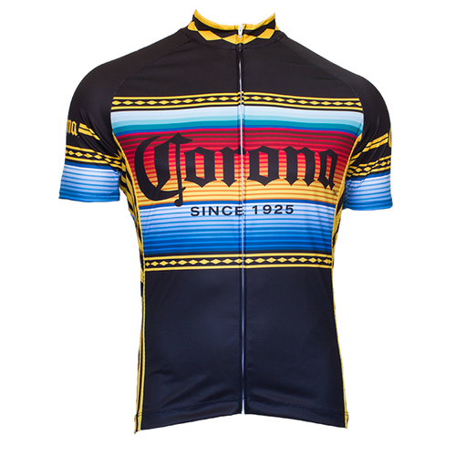 Retro Corona Black Beer Team Cycling Jersey Cycling Outfit