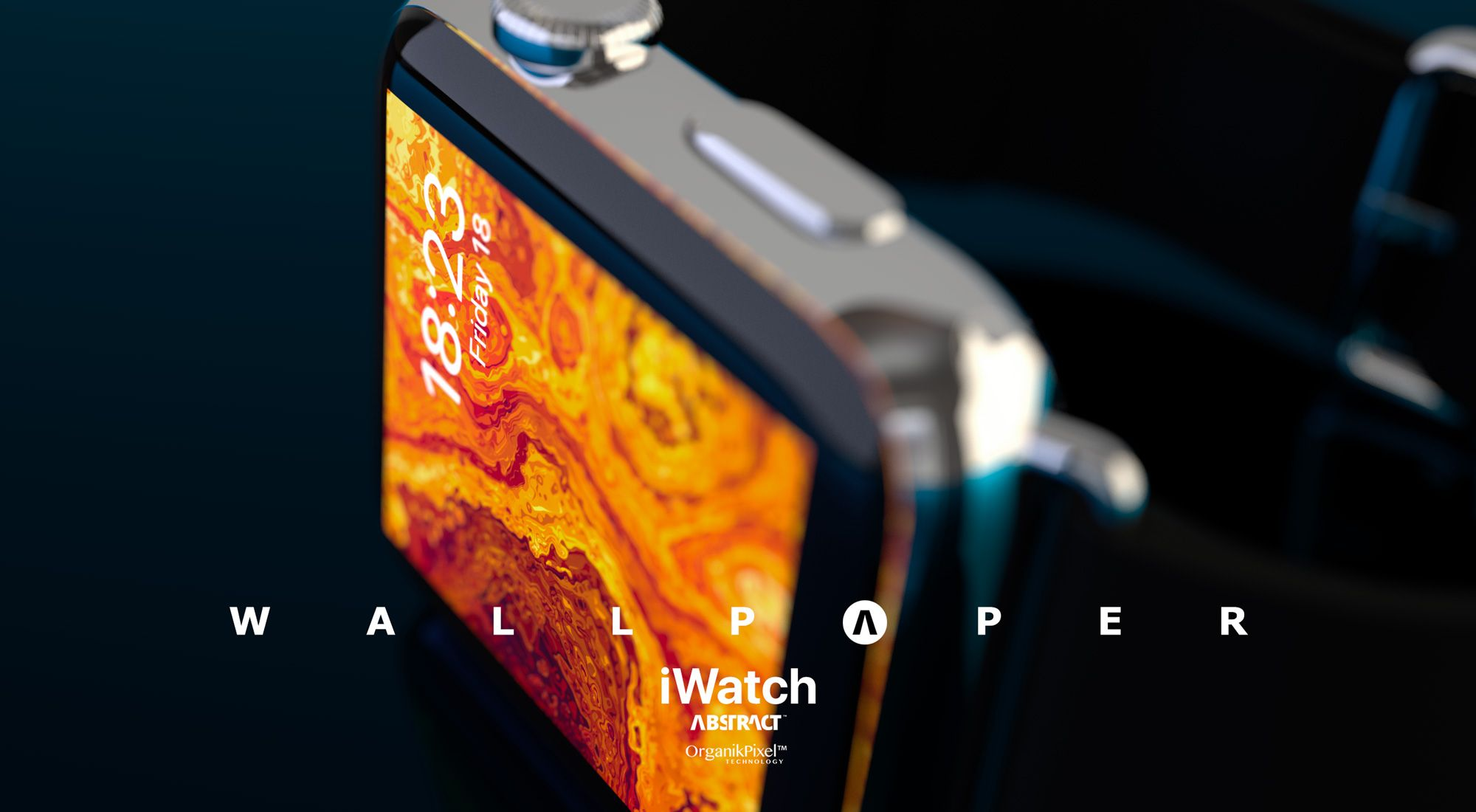 Royal Crown Original Abstract Wallpaper for iWatch