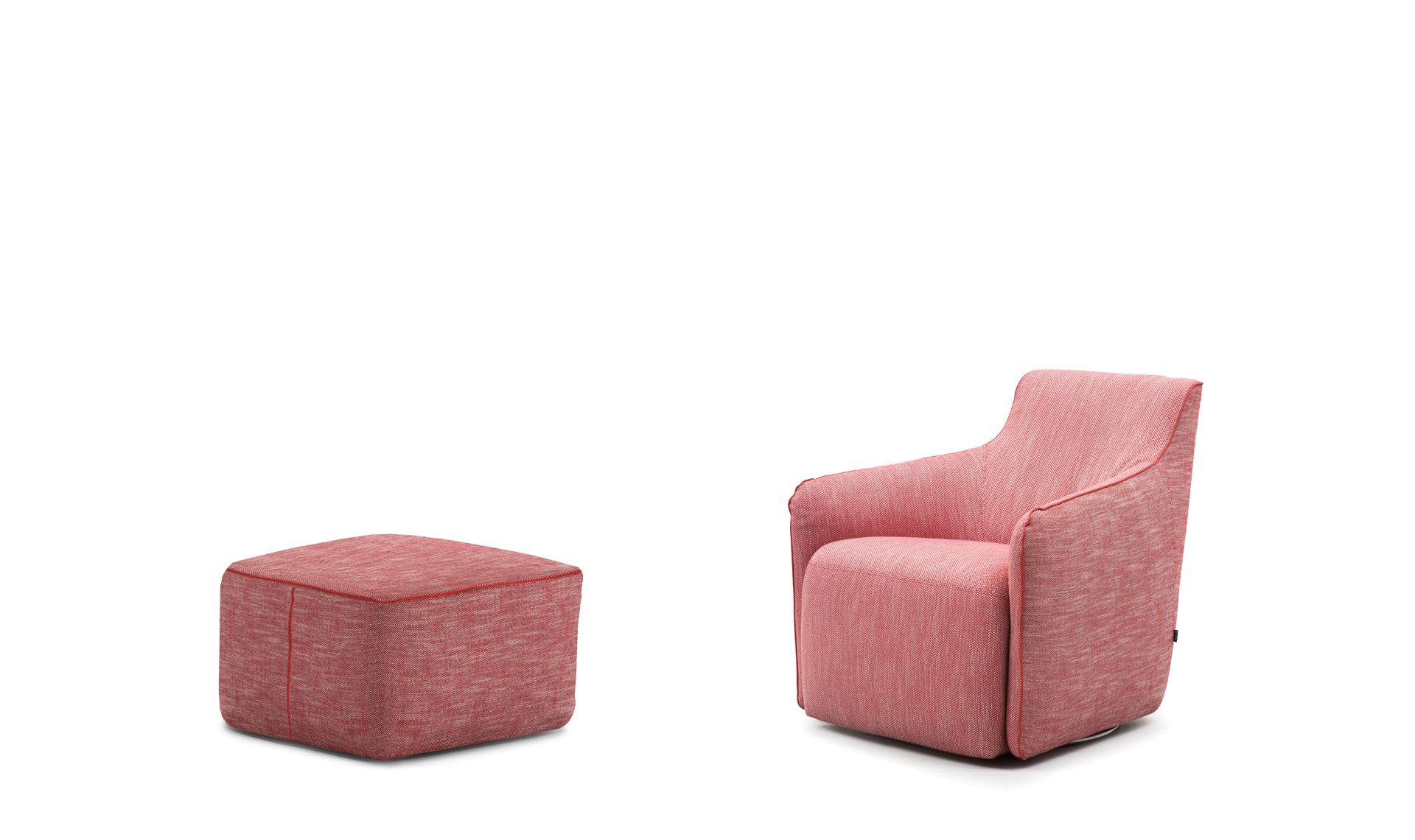 Tavolino Poggiapiedi ~ Jetset può essere anche accompagnata dal comodissimo poggiapiedi