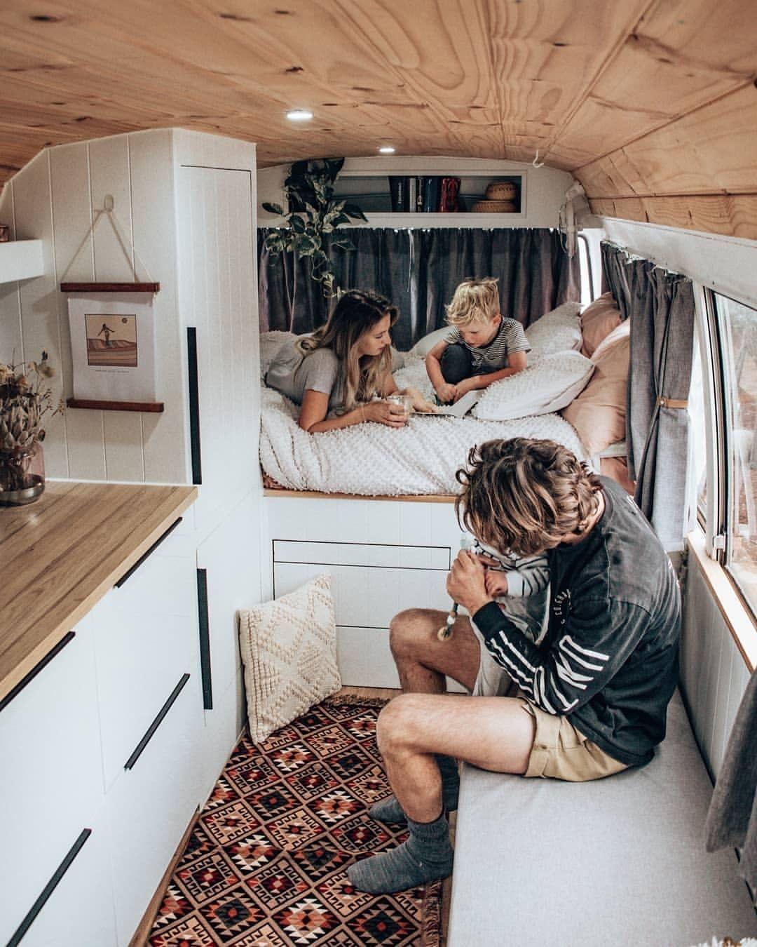 Vanlife Travel On Instagram Do You Like The Style Of This Van Picture By Vanlifeexplorers Check Van Life Diy Van Life Van Living
