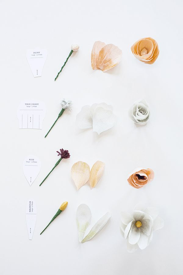 Diy crepe paper flowers with free template printable pinterest diy crepe paper flowers with free template printable snippet ink mightylinksfo