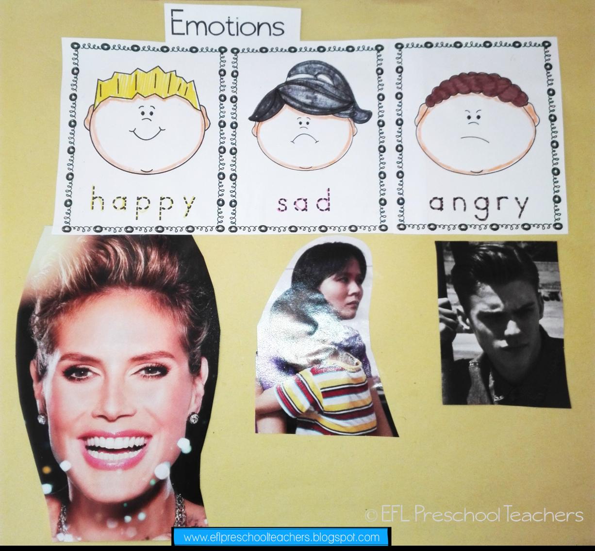 Esl Emotions Or Feelings Unit Worksheets