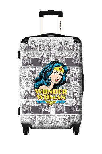 1c944372 Woohoo!!! LOVE!! Wonder Woman Hard Case Luggage by ikase on ...