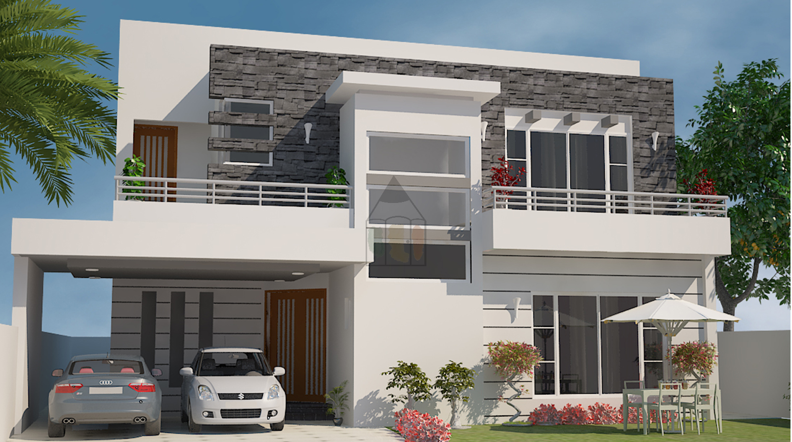 One Kanal House Plan Is Pakistani Style Design In Nature The Layout