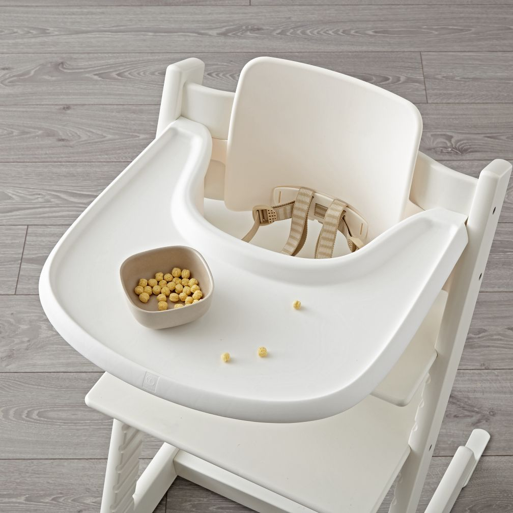 Shop White Stokke Tripp Trapp Tray. Stokke® Tray Was Created For Use With  The Tripp Trapp® High Chair And Features A Clean Lined Look That  Complements The ...